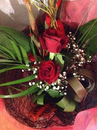 special flowers from a special person...
